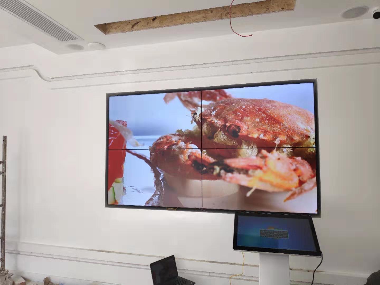 屏,拼接屏效果图,拼接屏案例,展厅大屏